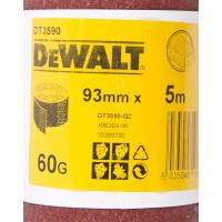 Шлифлист DeWALT DT3590, 5 м x 93 мм, 60G